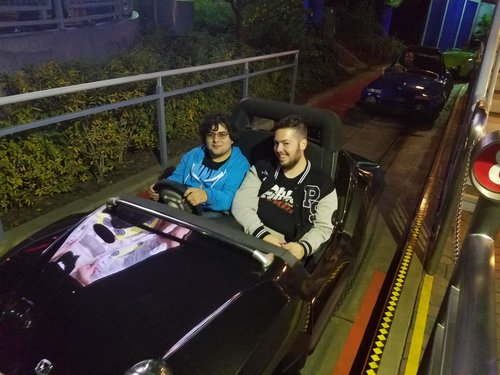 Xyger and Frank on Autopia