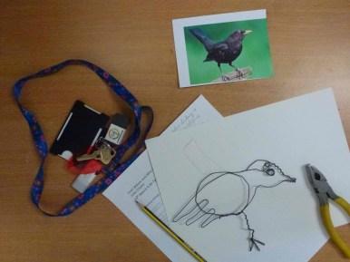 wire bird 1