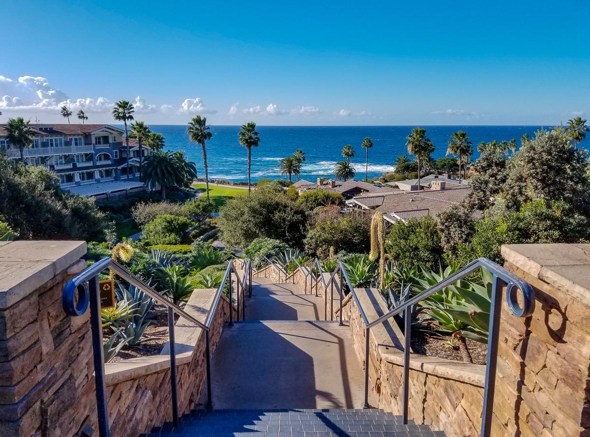 The Montage Resort in Laguna Beach, California