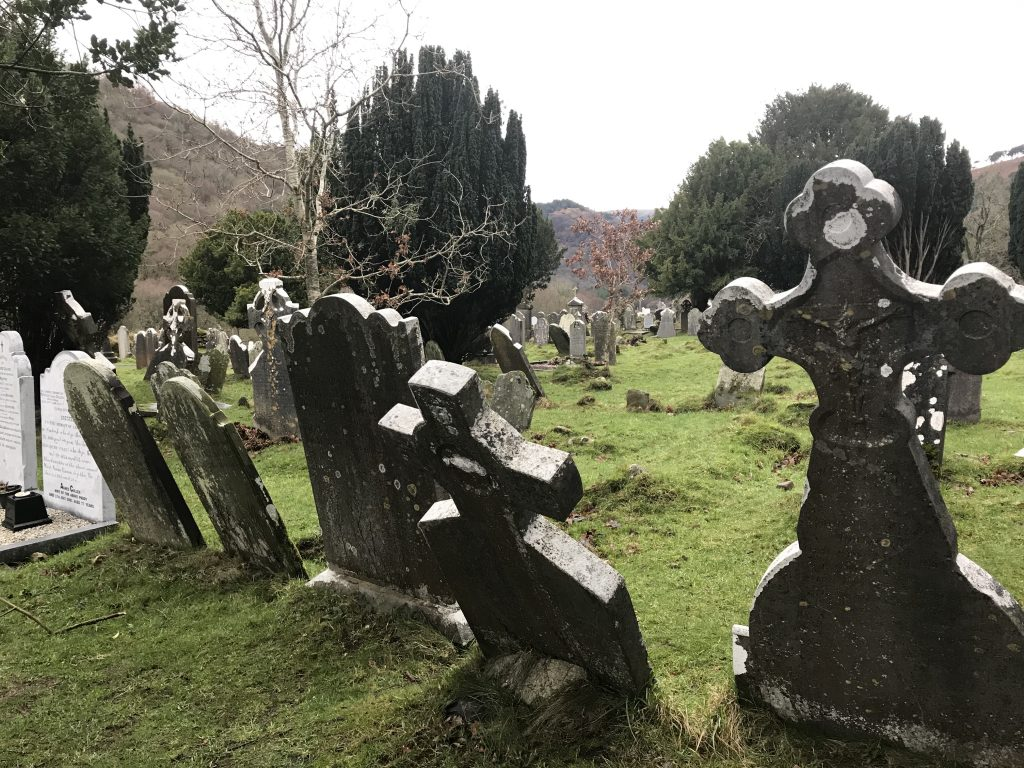 December in Ierland - Glendalough