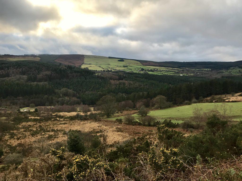 Overal in Ierland vind je dit soort uitzichten.