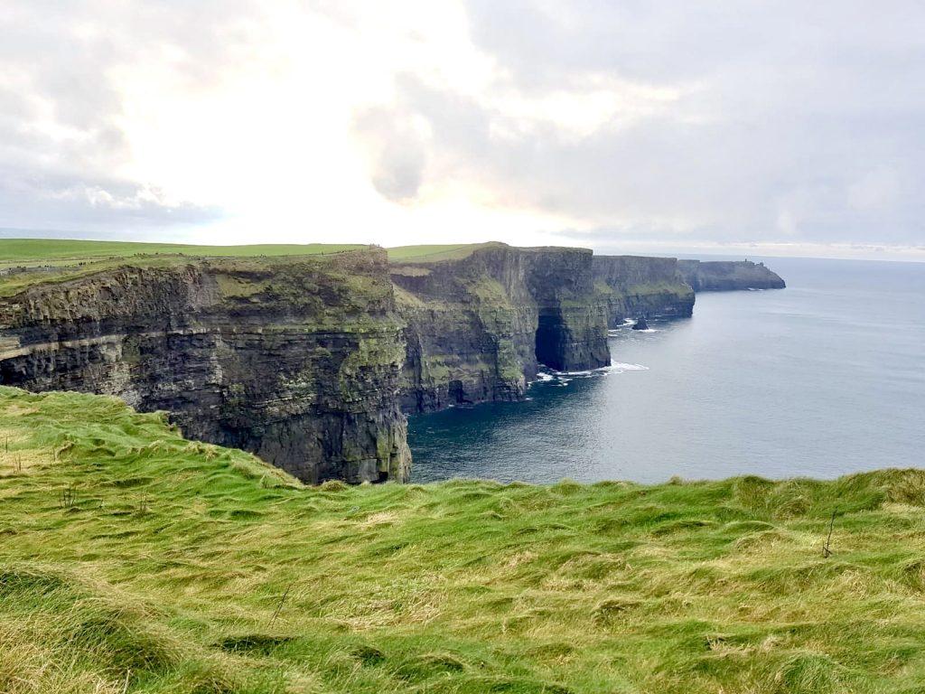 Januari begon in Ierland:  de Cliffs of Moher zijn mooi!
