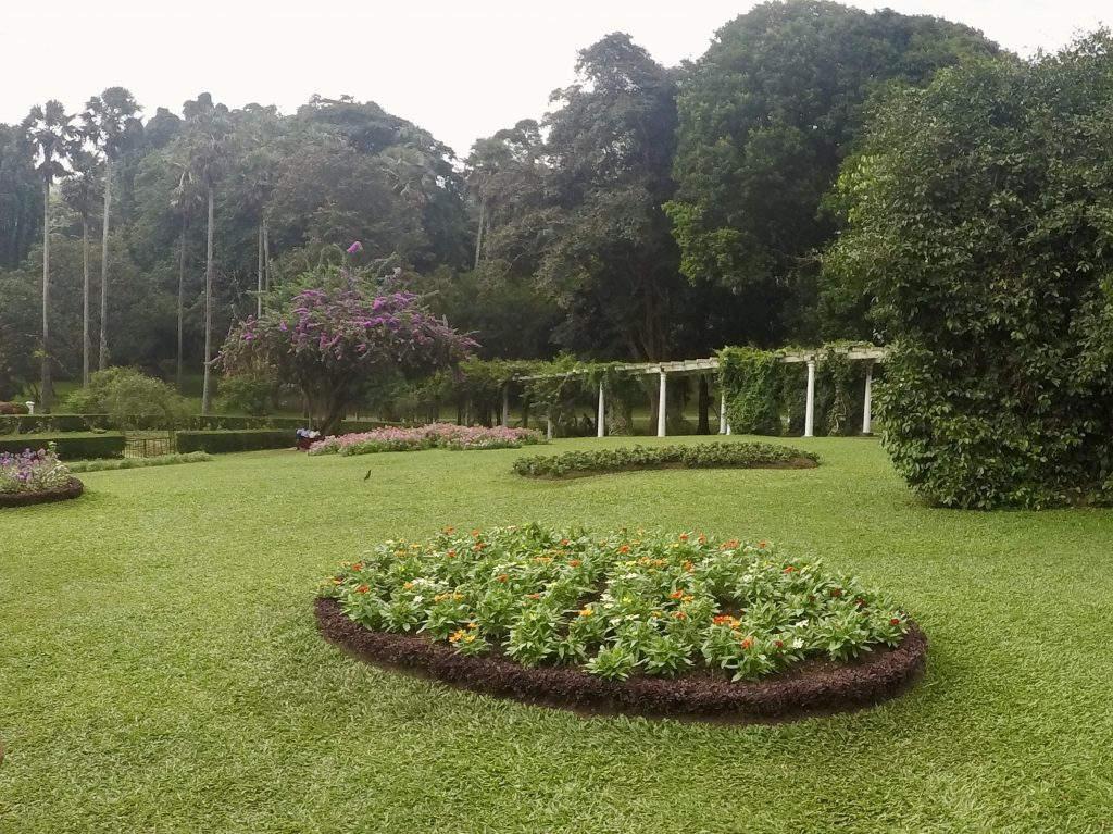 De Royal Botanic Gardens in Kandy, Sri Lanka