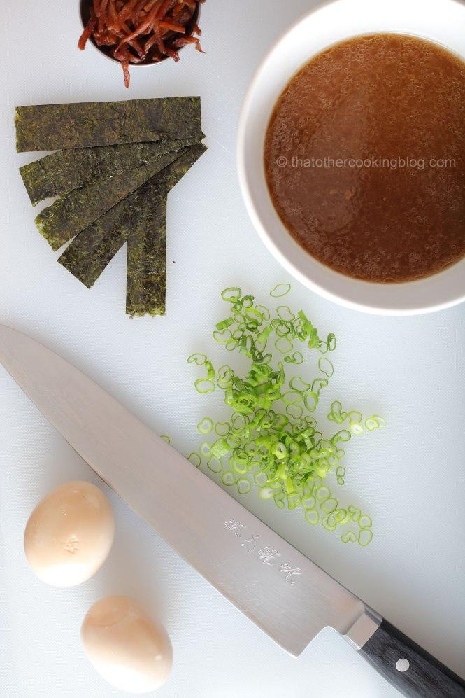 Pork Miso Ramen Noodle Soup