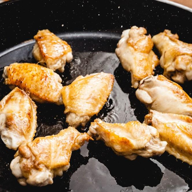 paella de pollo y cochino