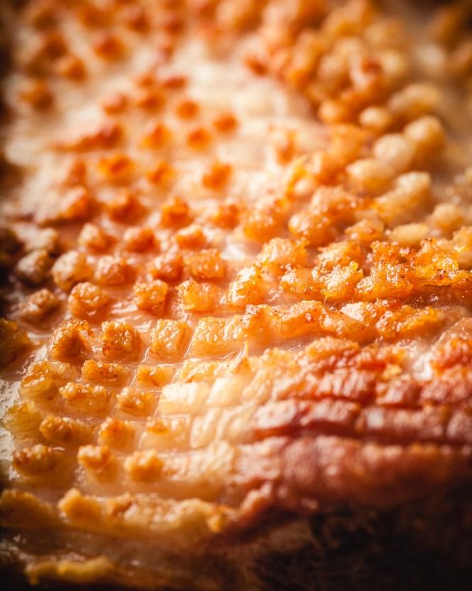 pork centre loin sous vide : 57C 12h : 5% sugar %5 salt