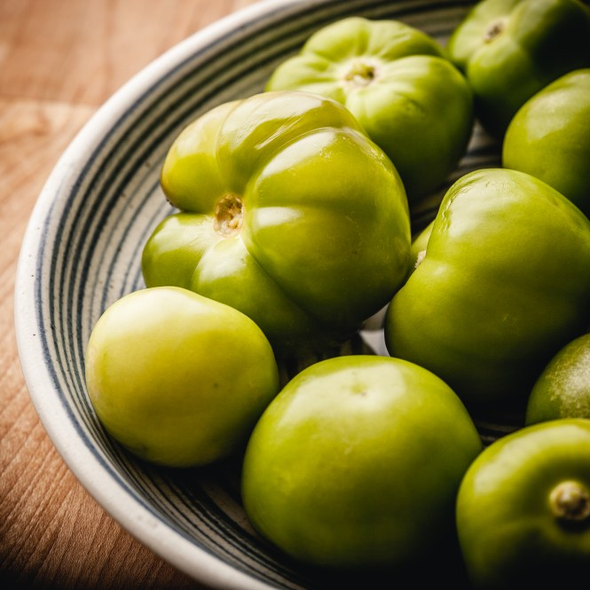 most delicious fermented tomatillo hot sauce