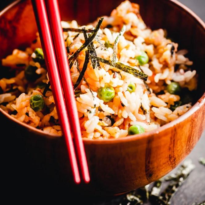 takana fried rice @ thatothercookingblog.com