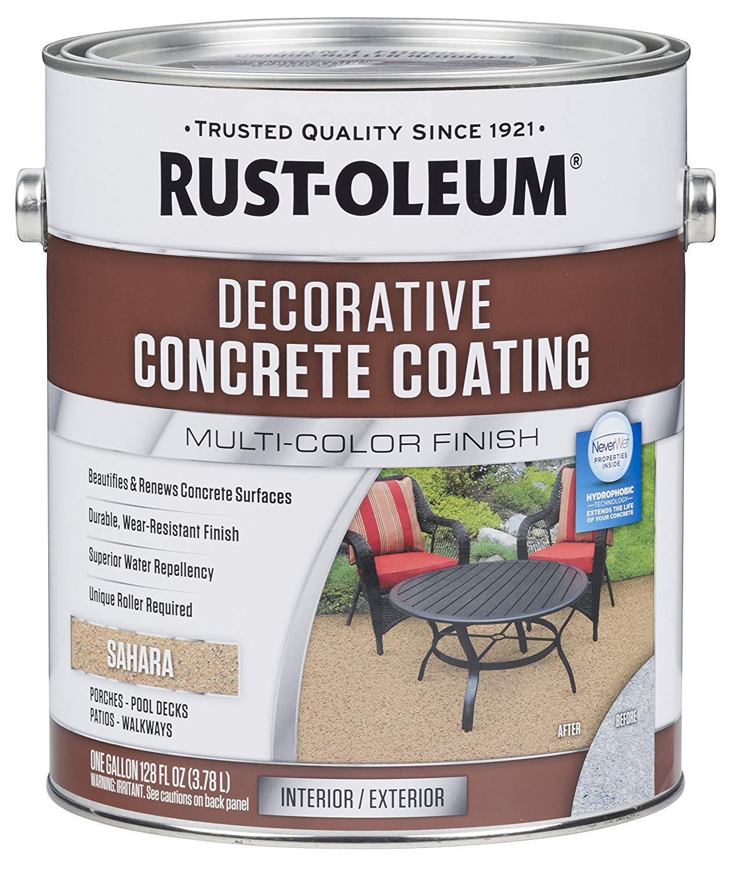 concrete floor paint colors indoor