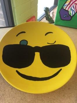 Make your own emoji plate!