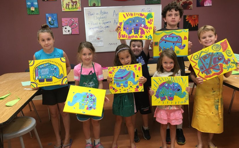 Sign Up Now for Last Days of Summer Art Camp, 8/6 – 8/14!