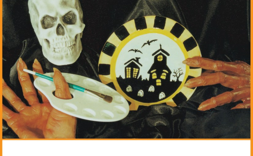 Paint Some New Pottery For Halloween at the Spot!