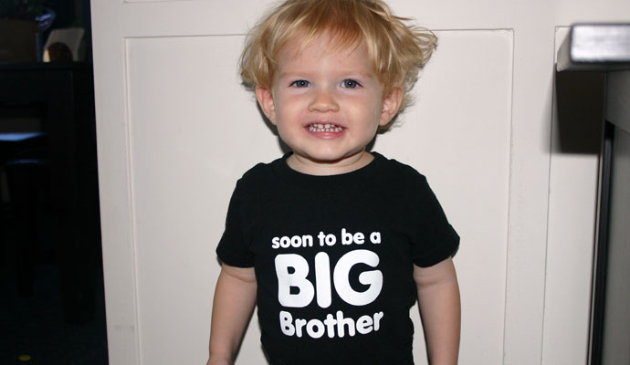 That Poore Baby is going to be a big brother