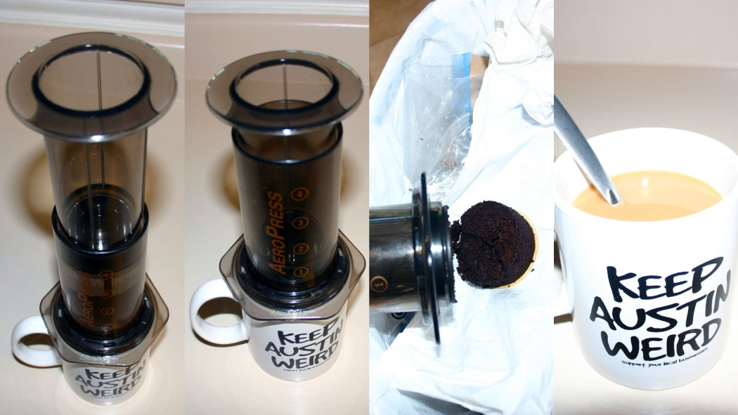 How to use an AeroPress Coffee and Espresso Maker