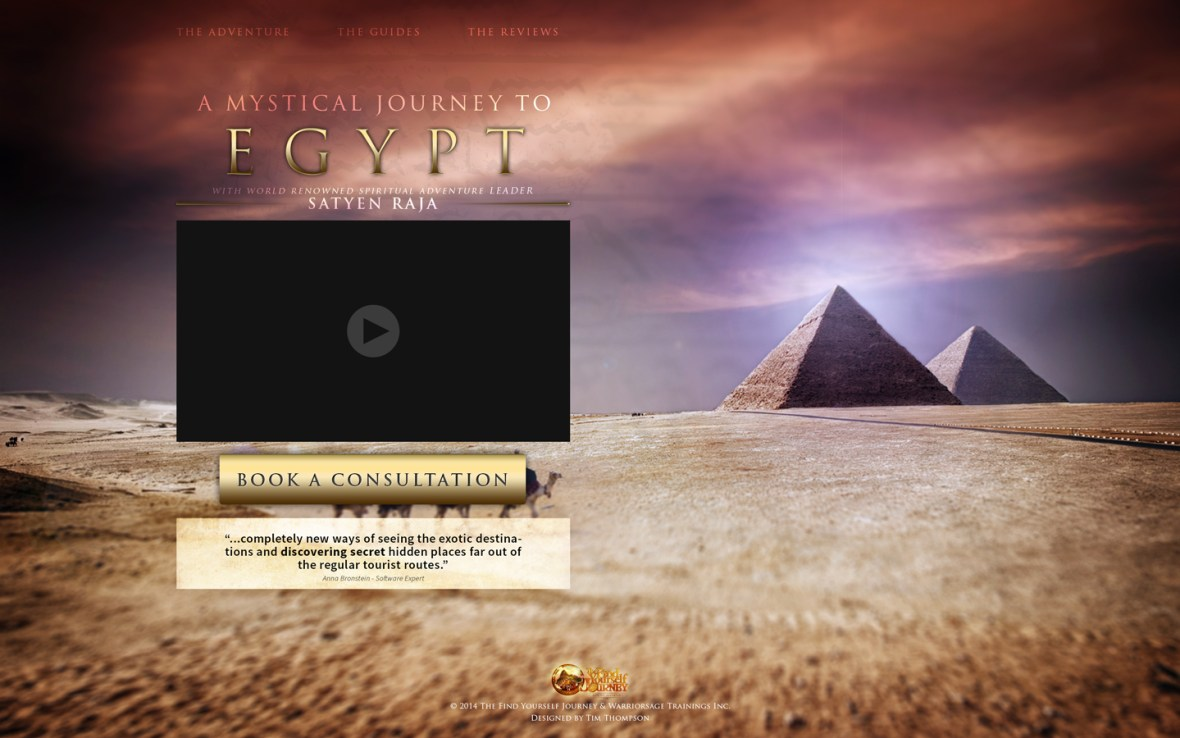 Egypt - The Find Yourself Journey