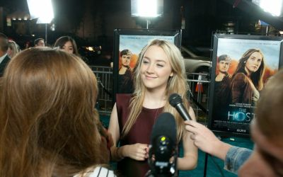 Saoirse Ronan Ryan Gosling, How To Catch A Monster, The Host, premiere