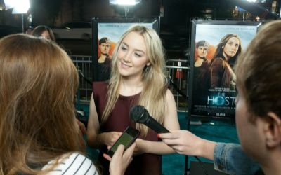 Host Movie Premiere, Saoirse Ronan