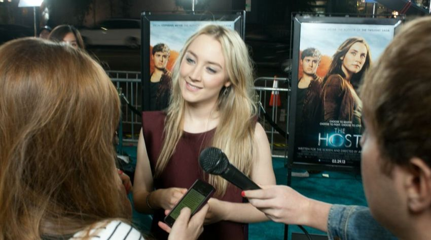 Host Movie Premiere, Saoirse Ronan