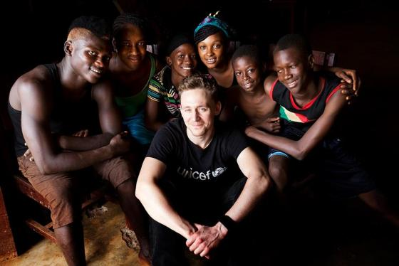 Tom Hiddleston Unicef, Unicef, Fandom, Guinea