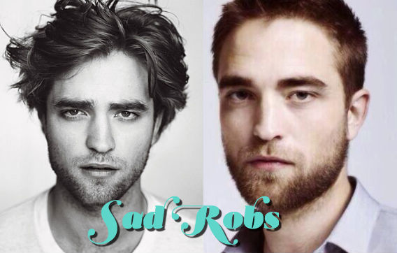 sad rob, Robert Pattinson