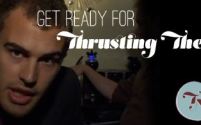 Thrusting Theo James