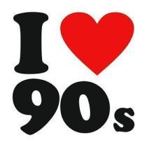 I heart 90s