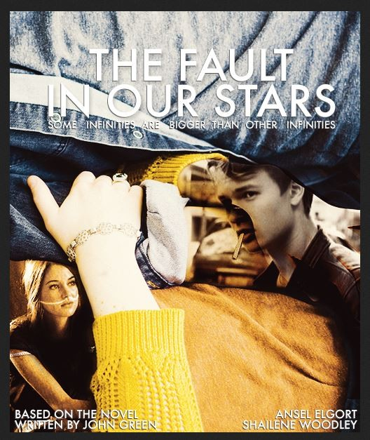 first poster for the fault in our stars movie say what
