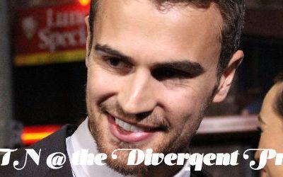 Divergent Premiere, Theo James, Four, Los Angeles