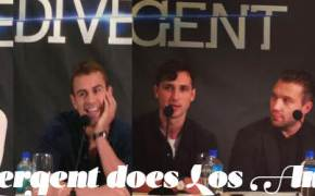 Divergent press junket, los angeles,