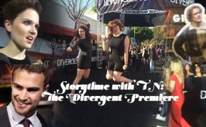 thats normal divergent premiere