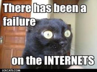 failure on the internet
