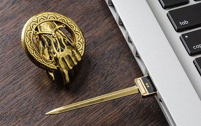 Think Geek, Game of Thrones, Flash Drive, USB