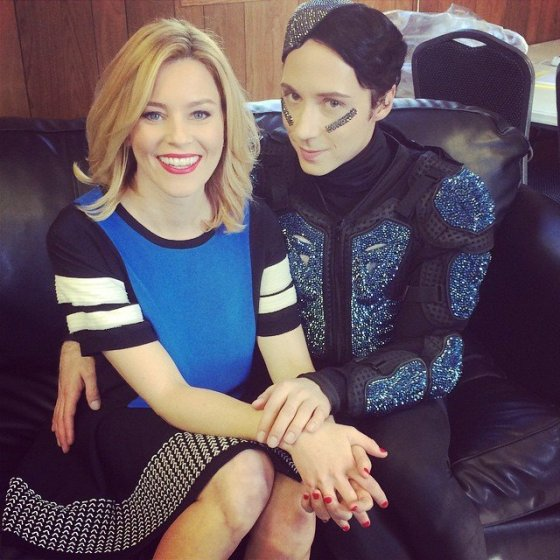 johnny weir elizabeth banks