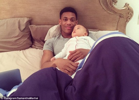 anthony martial baby