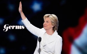Democratic presidential nominee Hillary Clinton waves to delegates before speaking during the final day of the Democratic National Convention in Philadelphia , Thursday, July 28, 2016. (AP Photo/J. Scott Applewhite)