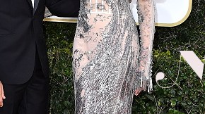 arrives at the 74th Annual Golden Globe Awards at The Beverly Hilton Hotel on January 8, 2017 in Beverly Hills, California.