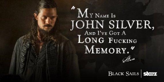 john silver, black sails, luke arnold,