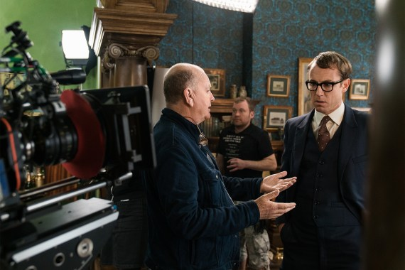 Outlander Set visit, Outlander season 3, Tobias Menzie, Jack Randall