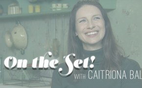 Caitriona Balfe, Cait, Outlander, Scotland, set visit