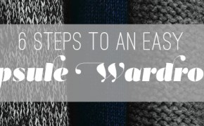 steps to a capsule wardrobe