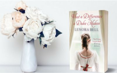 {Review+Interview+GIVEAWAY!} What a Difference a Duke Makes by Lenora Bell