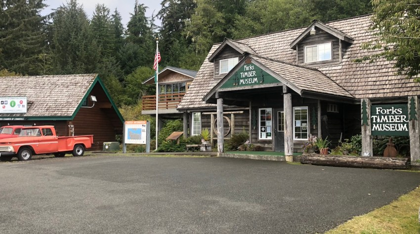 Forks Washington Visitor's Center