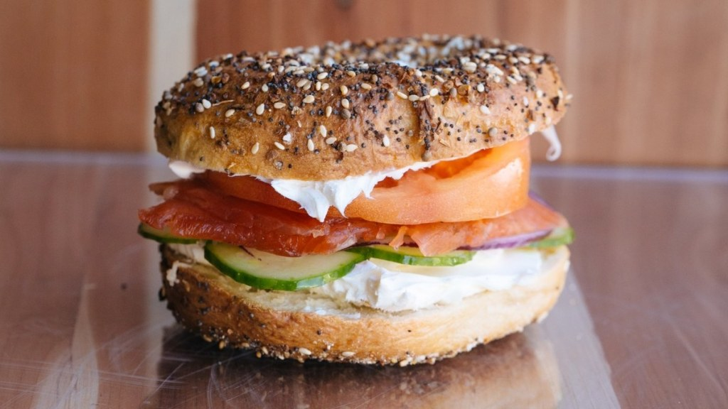 philly stye bagel