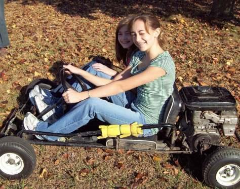 Go-cart fun R&R