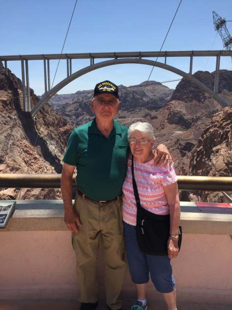 Mom & Dad, Hoover Dam, 2016