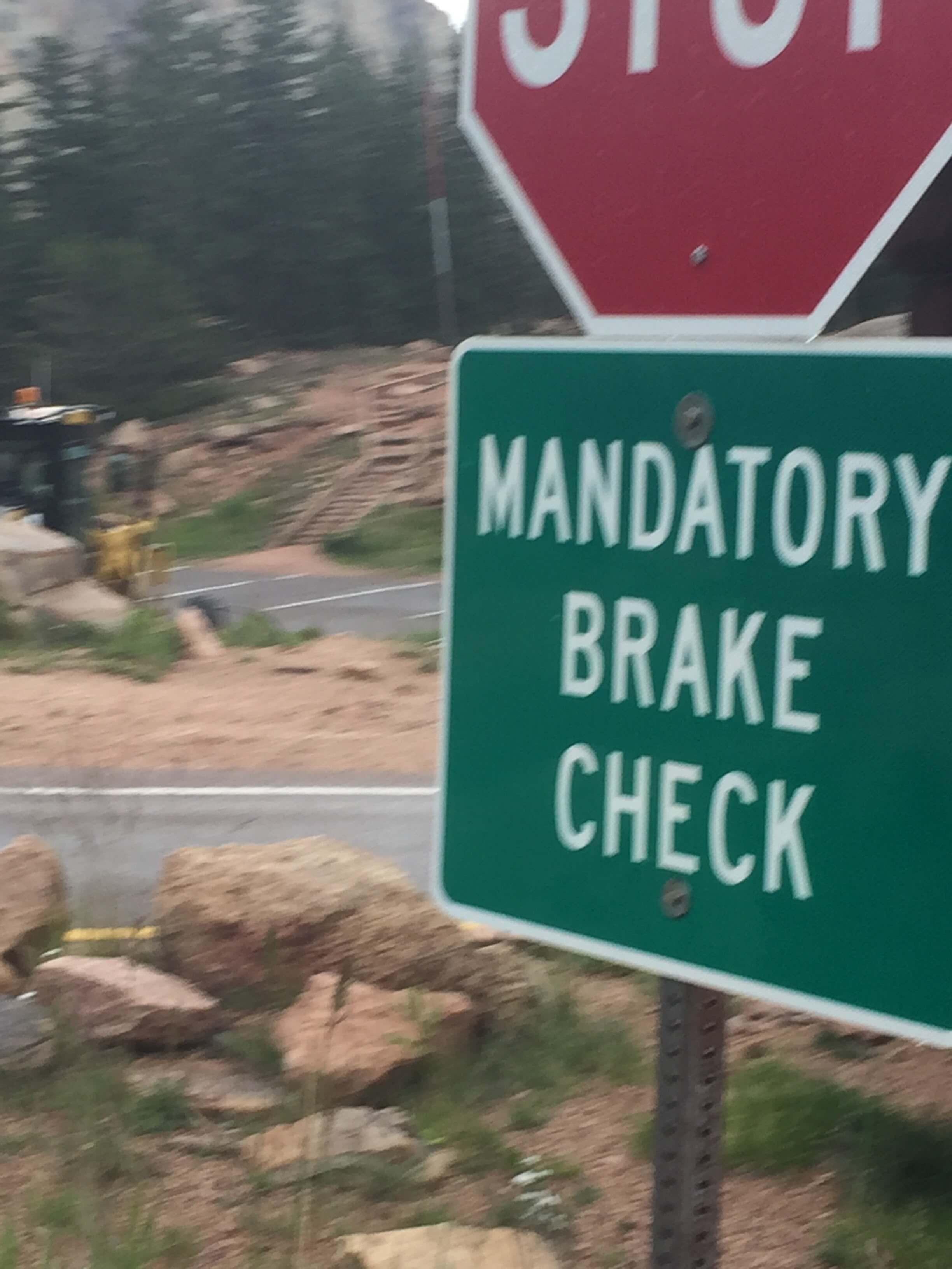 Brake Check, Pikes Peak, CO 2017