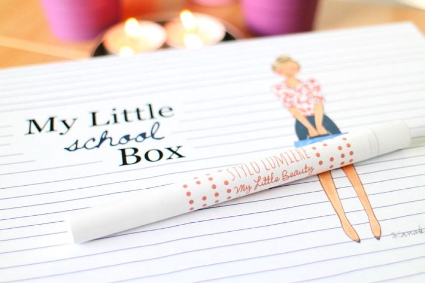 stylo lumiere, my little box september, my little beauty