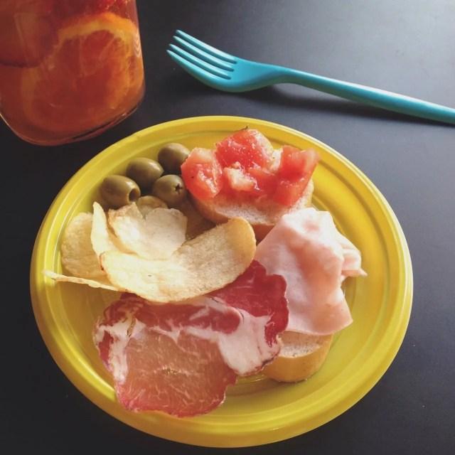 INGRIDESIGN Buns Monza aperitivo plate