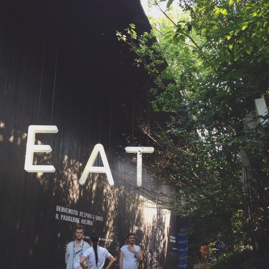 INGRIDESIGN EXPO milan 2015 austria eat