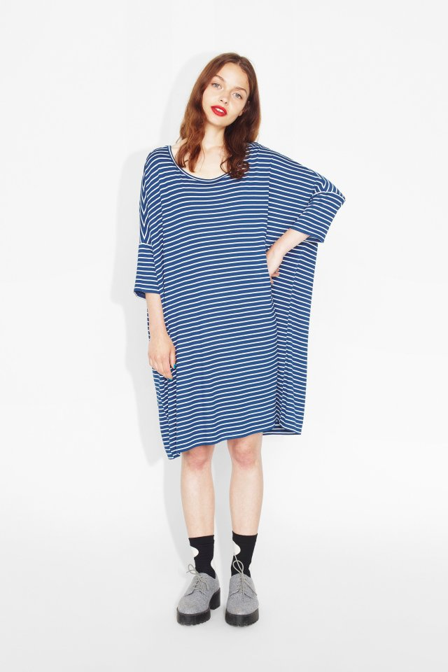 Jonna striped dress Monki